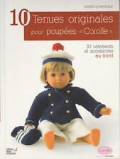 10 Tenues originales pour poupées Corolle de 42 cm