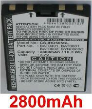 Batterie 2800mAh type BAT0401, BAT0601, BAT0602 Pour Iridium 9505A