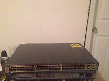 Cisco WS-C3750-48TS-S 48 Ethernet 10/100 ports Gigabit Ethernet Switch 1YEAR WRT