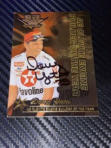 Doug Yates WHEELS HIGH GEAR GOLD 2000 ENGINE BUILDER OF YEAR autographed card
