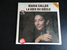 2 LP GATEFOLD MARIA CALLAS - LA VOIX DU SIECLE / neuf & scellé