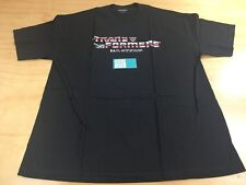 BAIT x Transformers Retro Optimus Prime Logo Anime Expo Tee Shirt Black Size XL