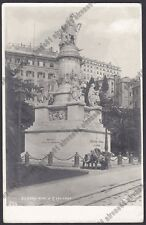 GENOVA CITTÀ 727 Cartolina Viaggiata 1908 Foto J. NEER - N.P.G. Monum. a COLOMBO