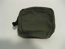 Pre MSA Paraclete Smoke Green Small General Purpose Pouch  New NEVER ISSUED !