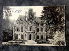 CPA. L'ISLE-ADAM. 95 - Le Château dans l'Ile. Côté Nord.