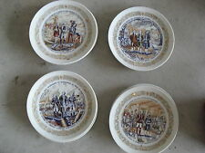 Vintage Lot of 4 Collector Plates Limoges George Washington