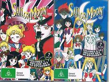 SAILOR MOON DVD's VOLUMES 1-7 + VOLUMES 8-14