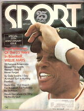 SPORT MAGAZINE  25 Year  September  1971   WILLIE MAYS COVER   EXMT