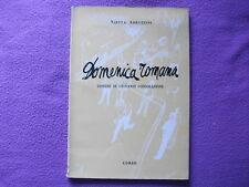 """""""La Domenica Romana"""", Nietta Abbruzzini-disegni di Giovanni Consolazione-1959"""