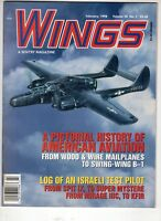 Wings Airplane Magazine Feb 1998  Northrop P-61B American Aviation