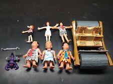 The Flintstones The Movie Action Figure Lot Mattel 1994 Fred Barney Flintmobile