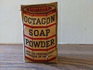 Vintage Unopened Box of Octagon Soap Powder