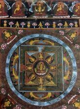 thangka tibetan buddha painting handpainted art mandala thanka mandala