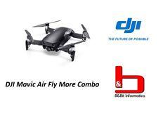DJI Mavic Air Fly More Combo Black Drone + Kit accessori Garanzia Dji Italia