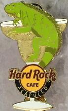 Hard Rock Cafe ACAPULCO 2008 Margarita Glass Gecko PIN Mexican HRC Series #55211