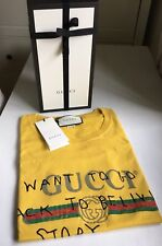 AUTHENTIC GUCCI COCO CAPITAN LOGO PRINT T SHIRT NEW WITH TAGS XXS FALL 2017