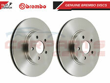 BREMBO BRAKE DISCS FRONT AXLE 280MM VENTED TYPE HIGH-CARBON + SCREWS 09.8137.24