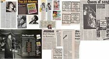 Ella Fitzgerald : Cuttings Collection -adverts interview-