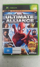 Marvel Ultimate Alliance with manual Xbox