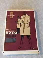 Vintage TOWNCRAFT Waterproof Rain Coat Raincoat Men's M 38-40 New Open Box