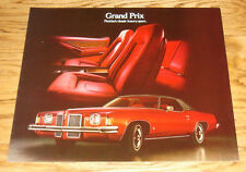 Original 1973 Pontiac Grand Prix Sales Brochure 73