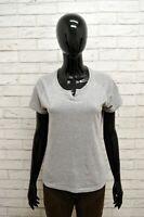Maglia ELLESSE Donna Taglia Size M Maglietta Camicia Shirt Woman Cotone Grigio