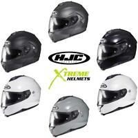 HJC C91 Helmet Solids Flip Up Modular  Inner Shield Pinlock Ready DOT ECE XS-5XL