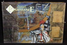 Vintage 1996 Avalon Hill Age Of Renaissance Strategy Board Game Middle Ages