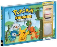 Pokemon Felties : How to Make 16 of Your Favorite Pokemon!, Hardcover by Pika...