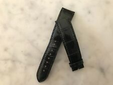 Watch Strap Correa ARNOLD & SON 20 mm Black Leather - Usada Used