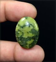 31.20 Cts. 100 % Natural Canadian Jade Oval Cabochon Untreated Loose Gemstone
