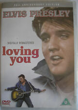 Elvis Presley DVD Loving You 25th Anniversary Edition Region 2