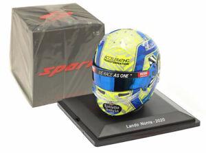 Spark 5HF042 Helmet Replica McLaren F1 2020 - Lando Norris 1/5 Scale