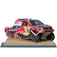 MODEL CARS, AL-ATTIYAH, Rally Dakar 2018, Toyota Hilux -01 with Clock,