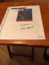 Astronaut Alan Shepard Autographed Life Magazine