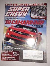 Super Chevy Magazine Camaro LS1 '63 Nova July 2009 030417NONRH