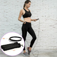 Crossfit Speed Cable Skipping Jump Rope Adjustable Gym Equipment Exercise