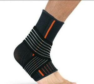 Ankle Support Compression Sock Strap Brace Running Sprain Plantar Fasciitis NHS