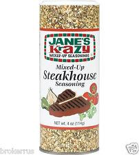 JANE'S KraZy Mixed Up STEAKHOUSE SEASONING for Steak Meat Vegetable grill 179119