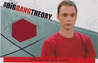 BIG BANG THEORY SEASONS 3 & 4 TRADING CARDS  COSTUME CARD SHELDON'S SHIRT M-27