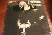 Scorpions In Trance RCA  PPL 1-4128 LP Germany 1975Cover VG Vinyl VG+