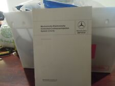 MERCEDES-BENZ MECHANICALLY/ELECTRONICALLY INJECTION SYSTEM FACTORY SERVICE MANUL