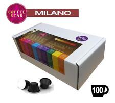 100 coffeestar MILANO Nespresso Compatibile Capsule
