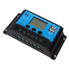 20A 12V/24V USB Output LCD Display PWM Panel Regulator Solar Charge Controller