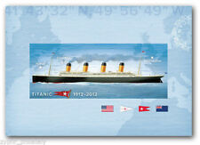 """Canada - """"SHIPS ~ TITANIC ~ 100 YEARS"""" Mint Pre-Paid Post Card 2012 !"""