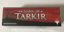 MTG Magic Khans of Tarkir Booster Box English Magic the Gathering Factory Sealed