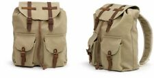The Barrel Shack - Nina - Handmade Canvas & Leather Backpack - NEW WITH TAGS