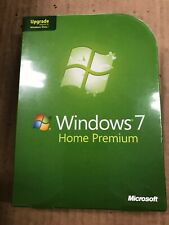 Microsoft Windows 7 Home Premium Upgrade GFC-00020 new sealed GENUINE