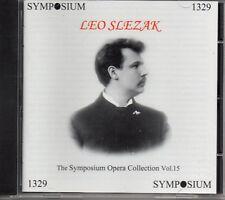 SYMPOSIUM OPERA COLLECTION VOLUME 15 - LEO SLEZAK - SEALED