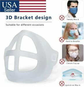 3D Face Masks Bracket Mouth Separate Breathing Space Inner Stand Holder USA